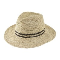 Crochet Striped Trilby